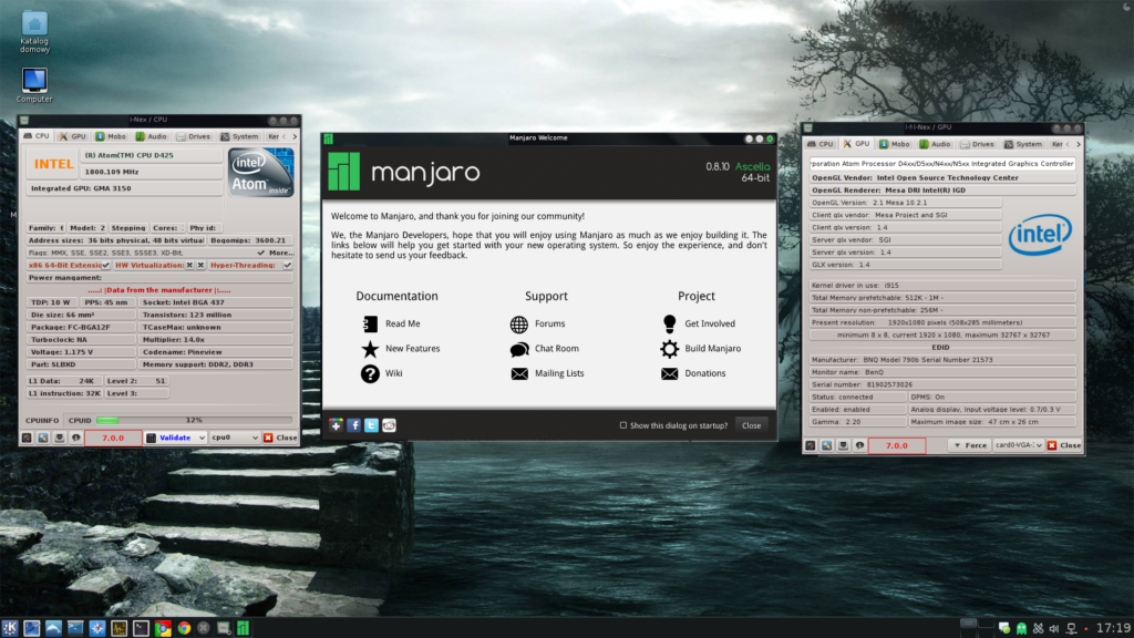 I-Nex 7.0.0 dla Manjaro 0.8.10